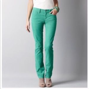 Loft straight leg corduroy jeans